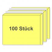 Bündeln mit Gummiband zu je 100 Stück