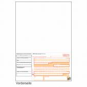 SEPA-Laser-Zahlschein - Überweisungsformular DIN A4 ohne DE-Kennung